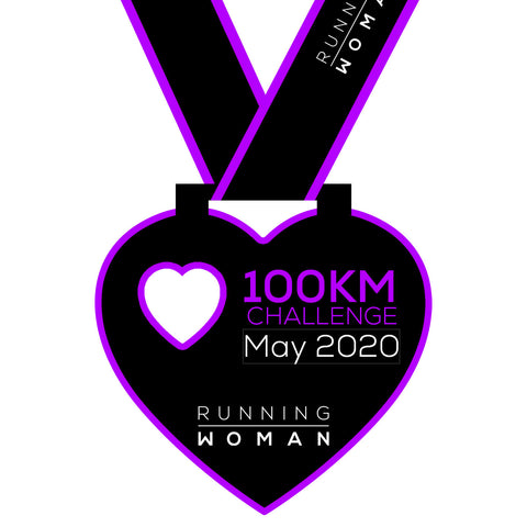 100km Virtual Challenge in May 2020