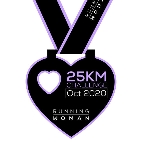 25km Virtual Challenge in October 2020