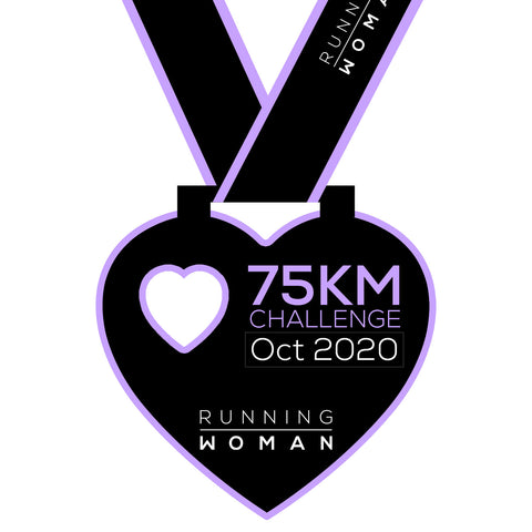75km Virtual Challenge in October 2020