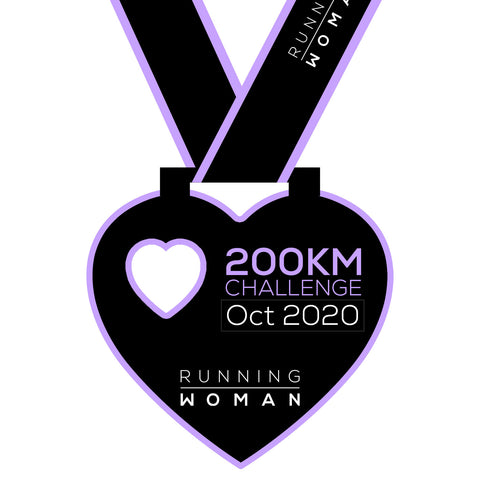 200km Virtual Challenge in October 2020