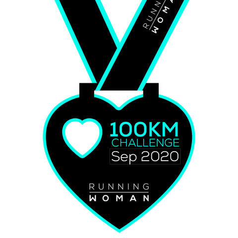100km Virtual Challenge in September 2020