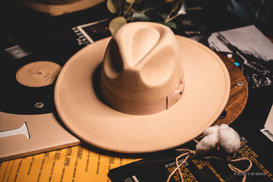 Wide Brim Ivory | Fashion Hat | Ruby's Rubbish®