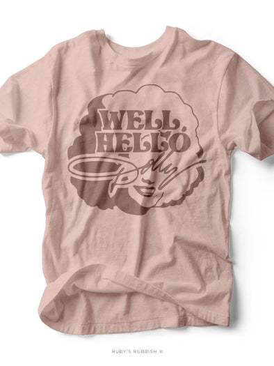 Well Hello Dolly | Women's T-Shirt | Ruby's Rubbish®
