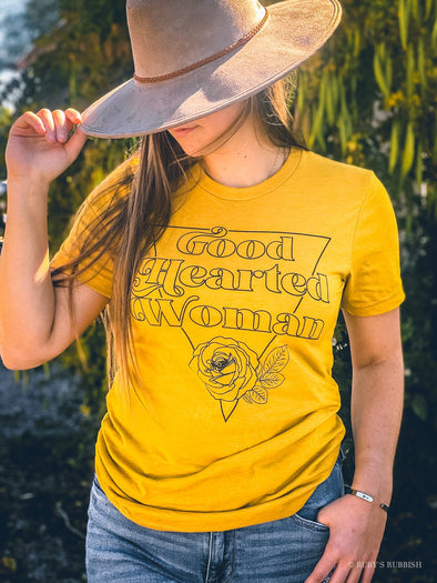 Good Hearted Woman | Vintage T-Shirt | Ruby's Rubbish®