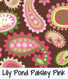 Lily Pond Paisley Pink