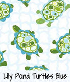 Lily Pond Turtles Blue