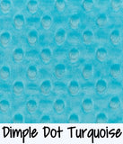 Dimple Dot Turquoise