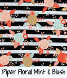Piper Floral Mint & Blush