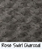 Rose Swirl Charcoal