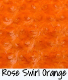 Rose Swirl Orange