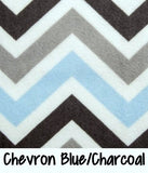 Chevron Blue/Charcoal