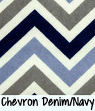 Chevron Denim/Navy