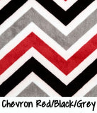 Chevron Red/Black/Grey
