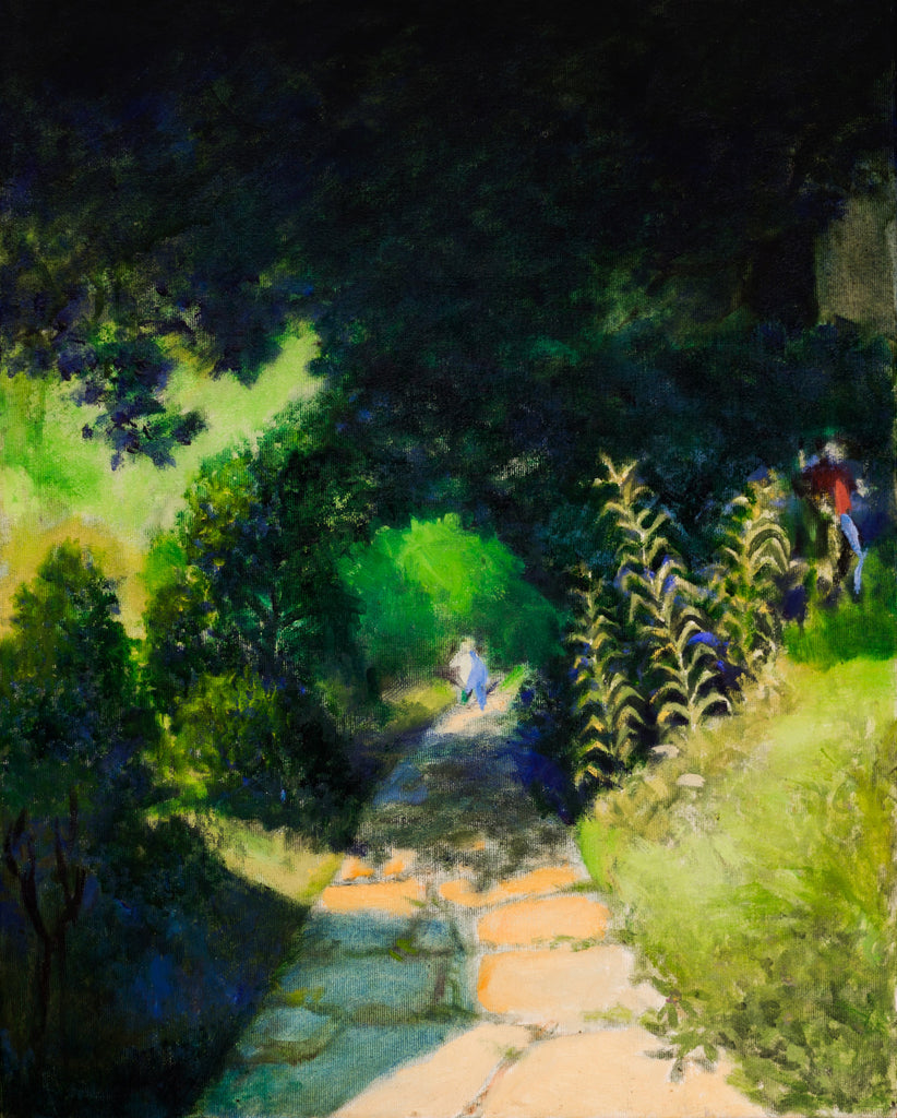 Children in the Garden - 2002