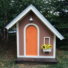 playhouse garden shed - front