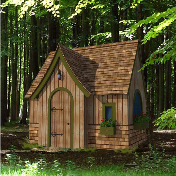 Storybook Playhouse Plan