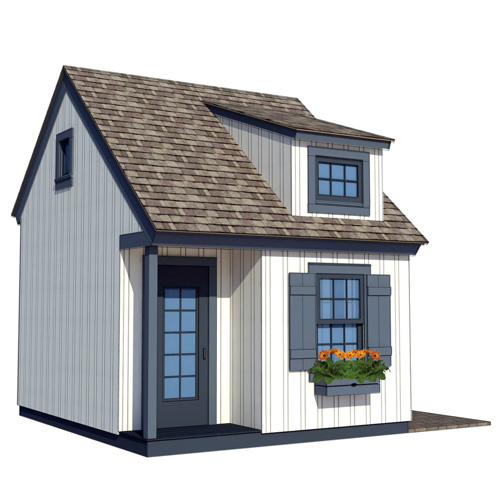 Traditional Playhouse Plan Playhouse Planner
