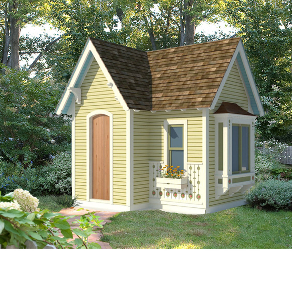 victorian playhouse plan playhouse planner