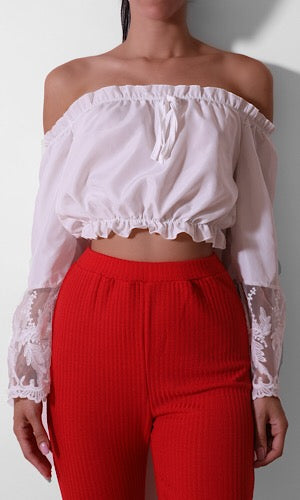 Senorita Cropped Top