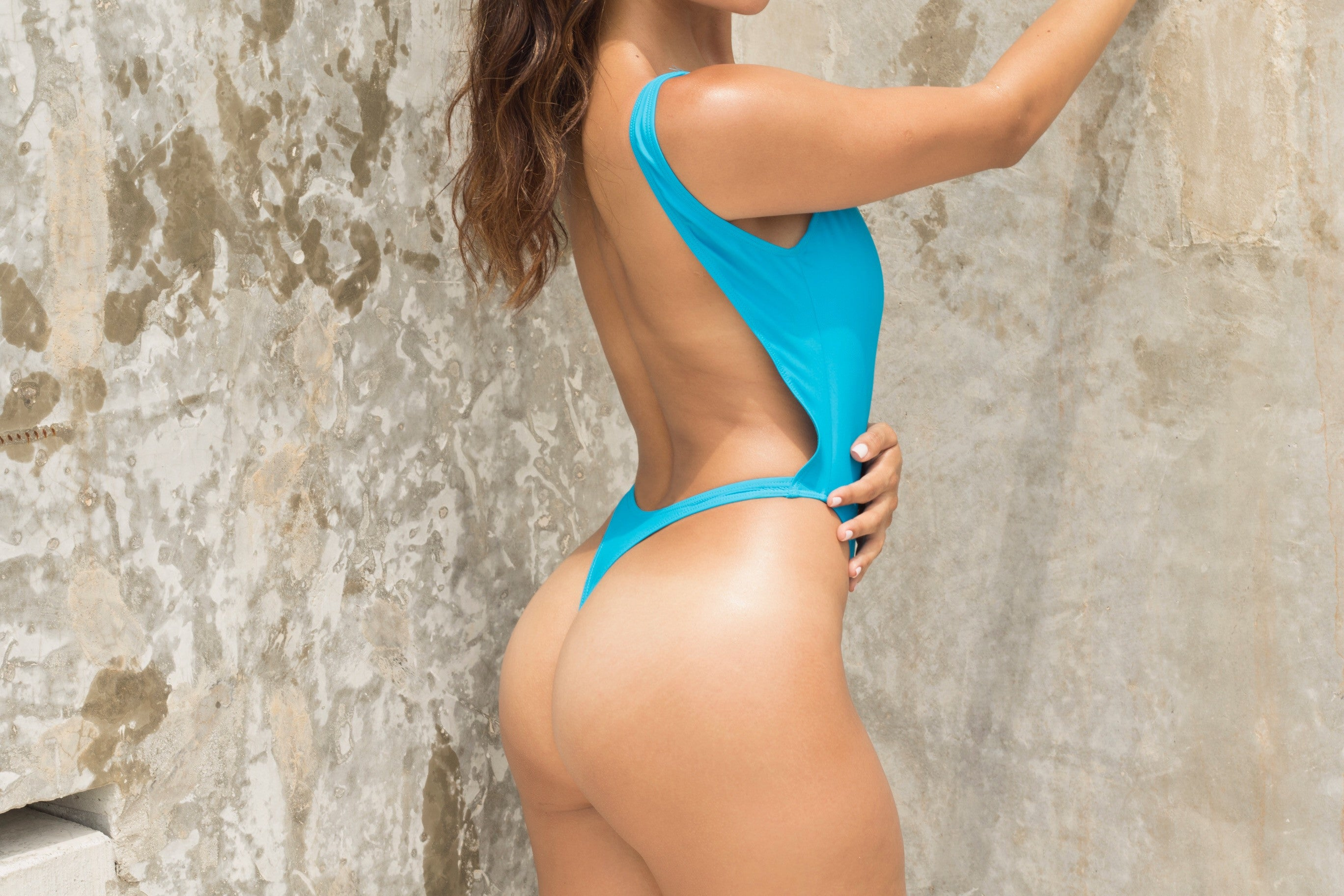 Racer Highwaisted Thong One Piece