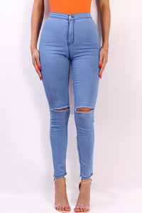 The Cara High Waist Jean