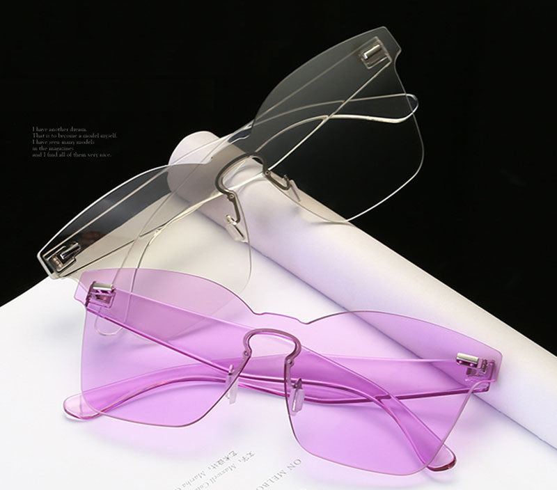 Colorpop Uni-Sex Clear Glasses