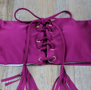 Tied Bandeau Mini Kini
