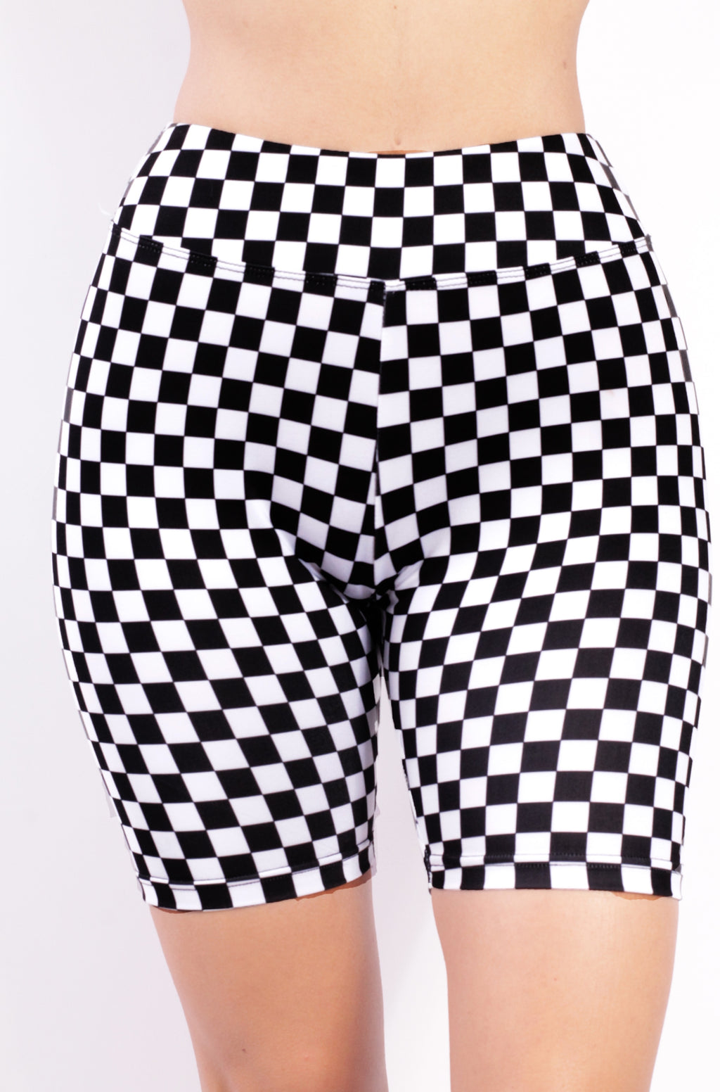 Racer Checker Shorts