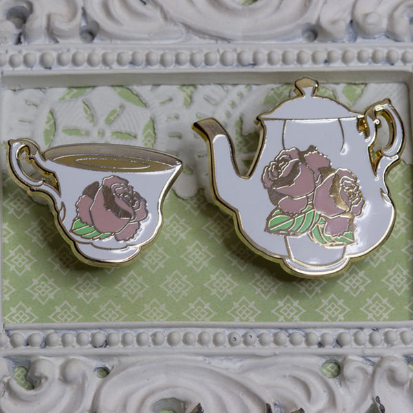 Blooming Tea Set in Rose - seconds