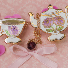 Blooming Tea Set in Peony