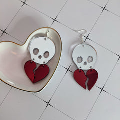 Hearts are Fragile Earrings