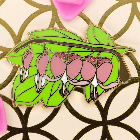 Branch of Hearts pin