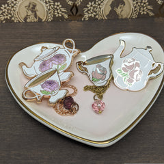Blooming Tea pin sets