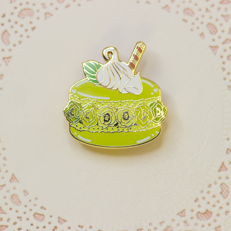 Matcha White Chocolate Crème pin