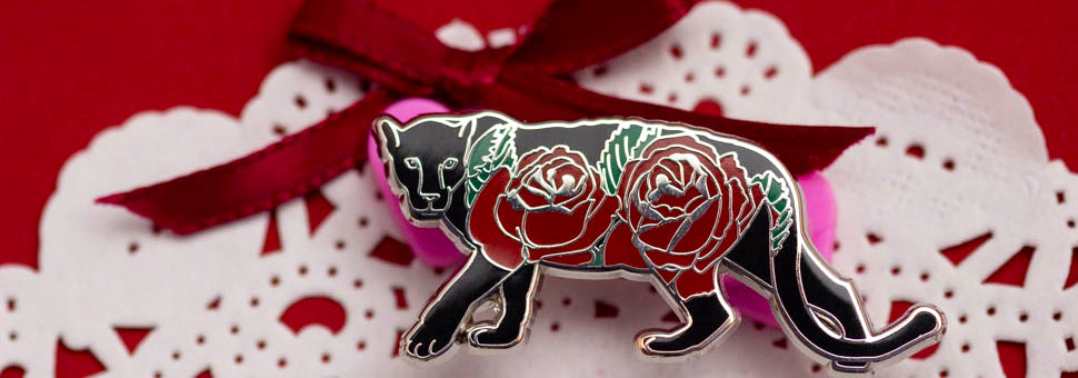 Panther with Blooms