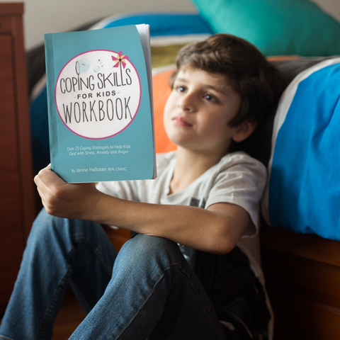 Coping Skills for Kids Workbook - Print Version