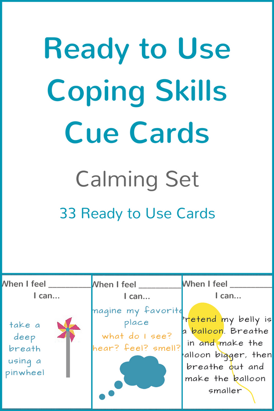 Help Your Child Manage Anxiety >> Calming Anxiety Coping Skills For Kids