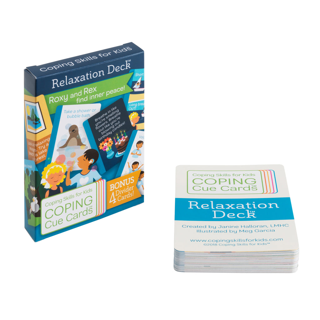 Coping Cue Cards Relaxation Deck