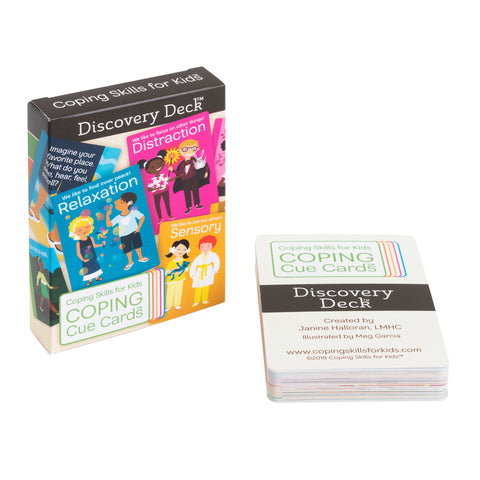 Coping Cue Cards™ Discovery Deck