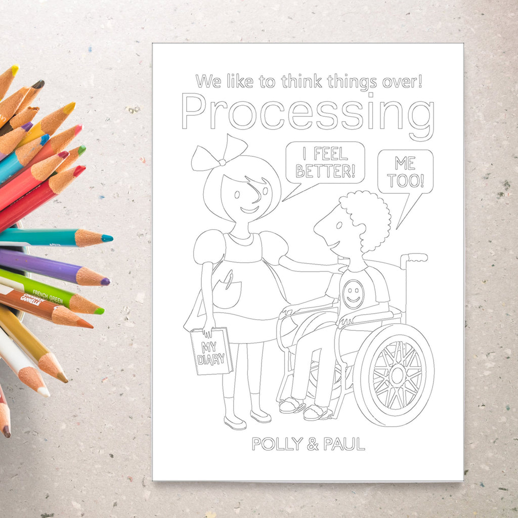 Processing Deck™ Coloring Sheets