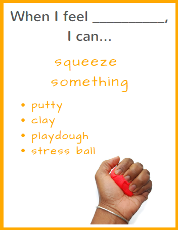 Ready to Use Coping Skills Cue Cards - Physical Set