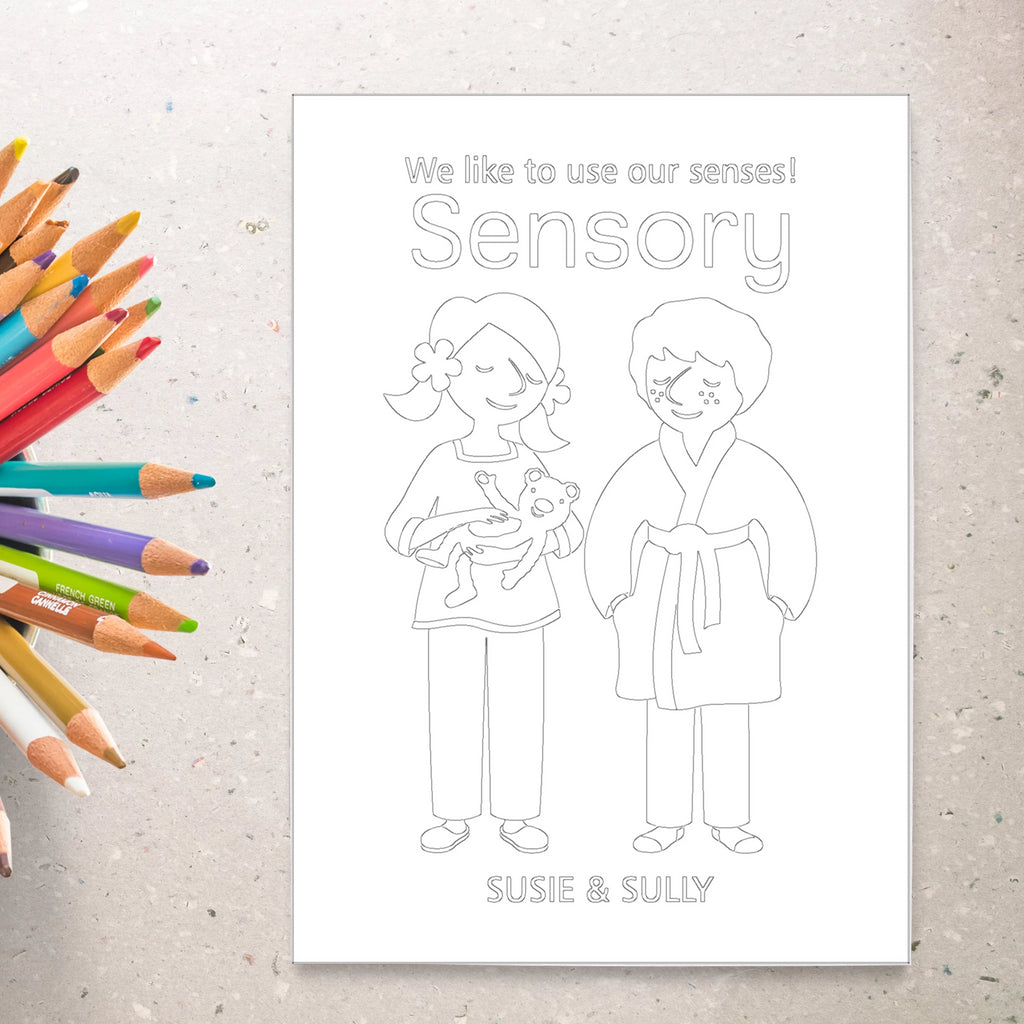 Sensory Deck™ Coloring Sheets