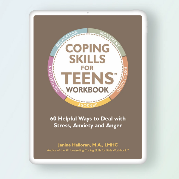 Coping Skills for Teens Workbook - Digital Version