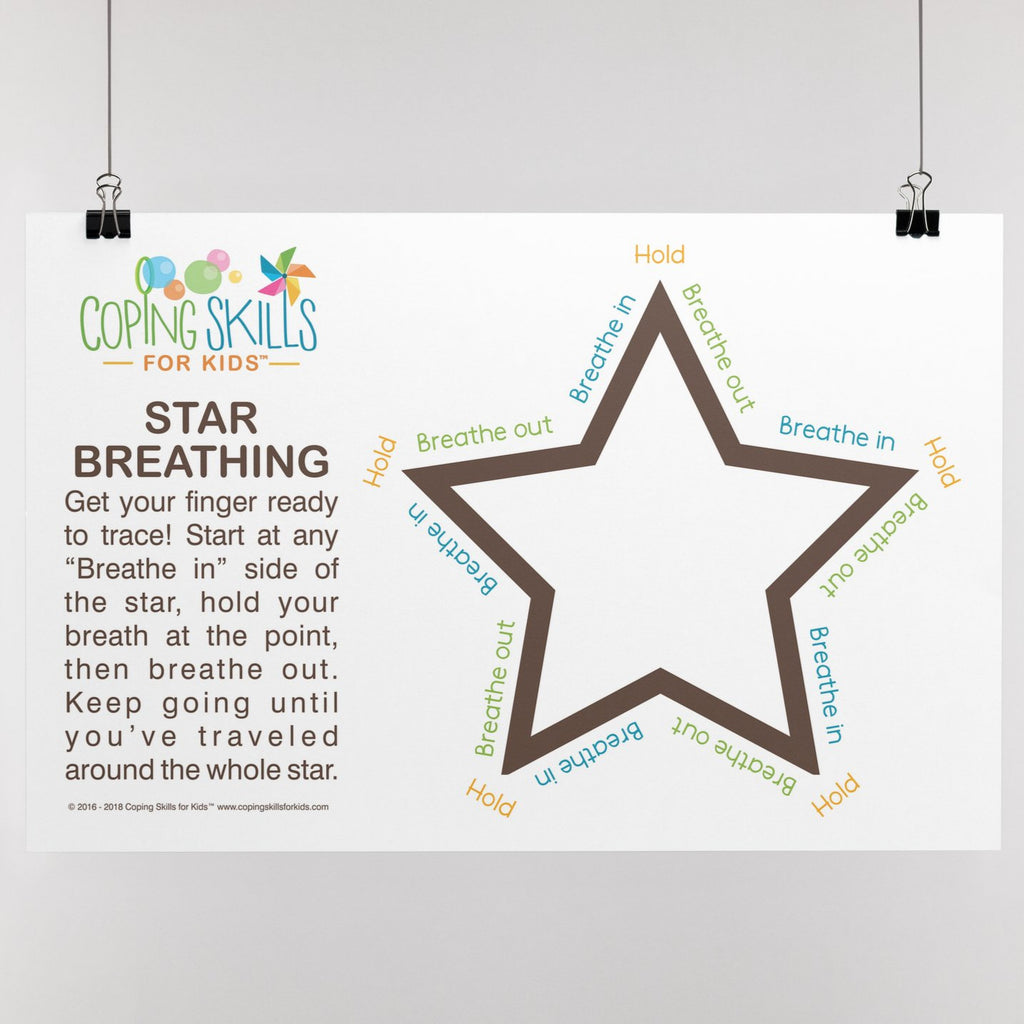 Wholesale Original Star Deep Breathing Poster