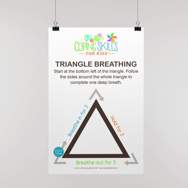 Wholesale Original Triangle Deep Breathing Poster