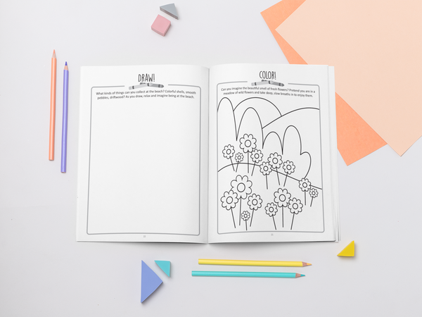 Digital Coping Skills for Kids Activity Books: Relaxation Round Up