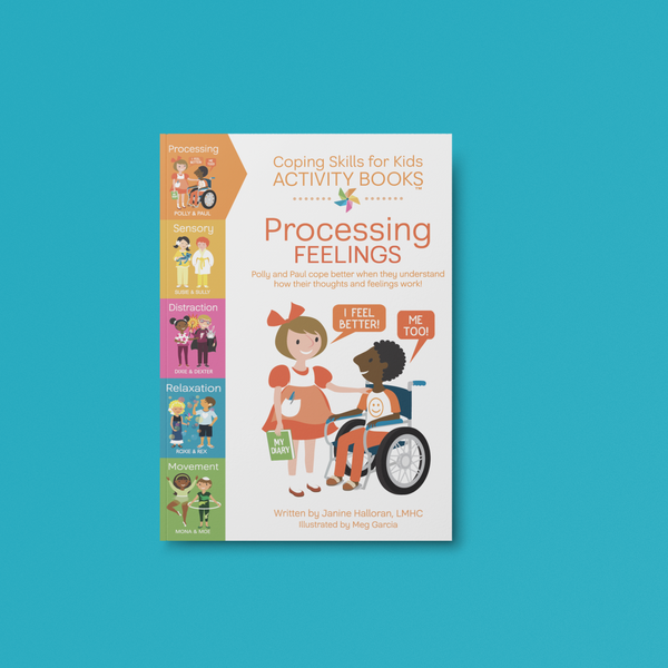 Digital Coping Skills for Kids Activity Books: Processing Feelings