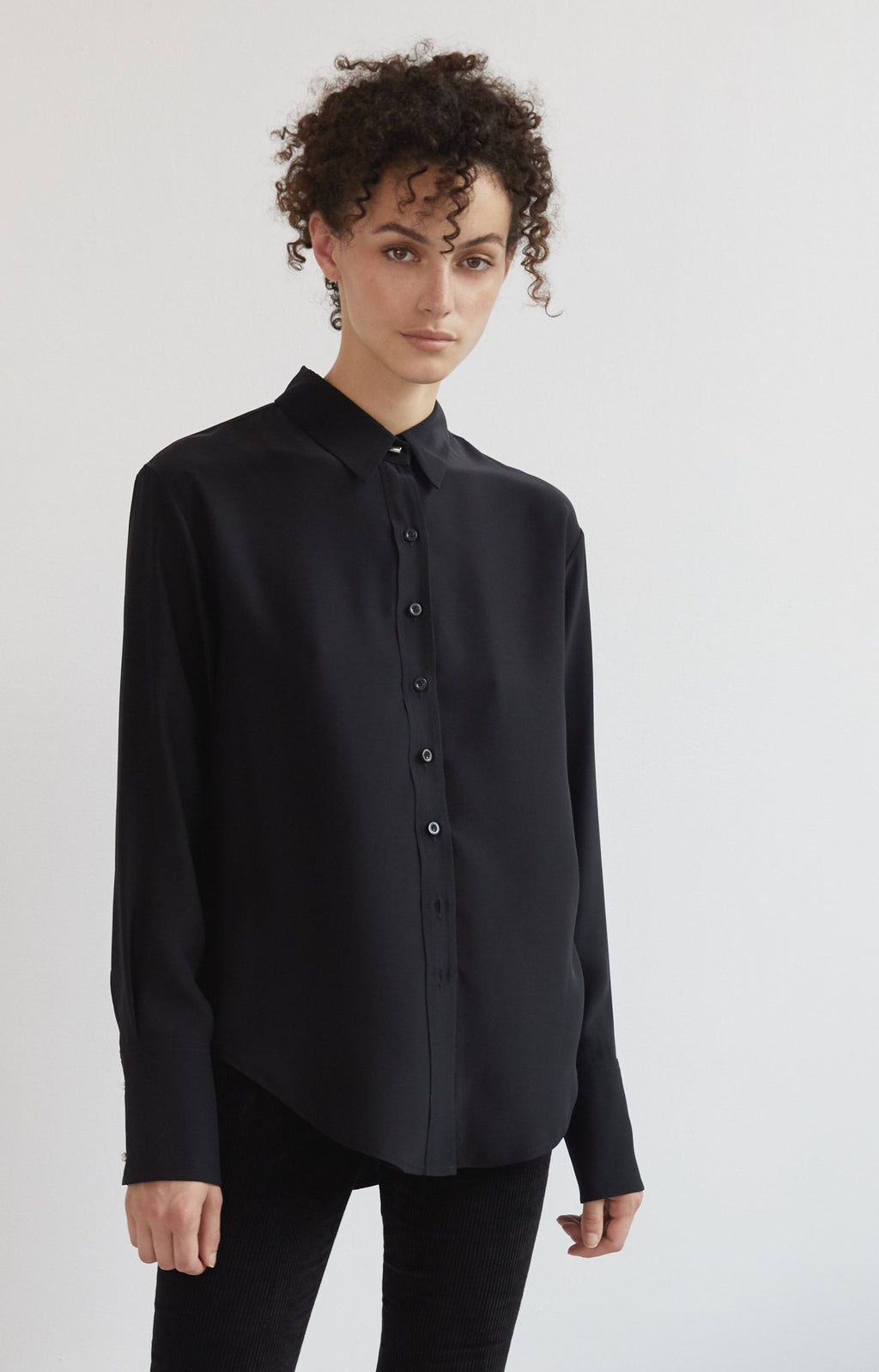 Emerson Button Up - Black