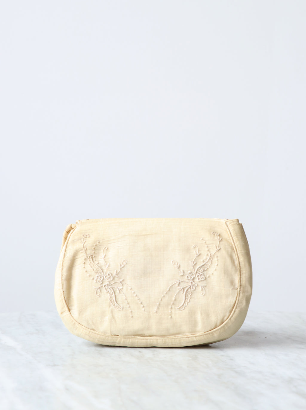 Vintage Hand Embroidered Clutch