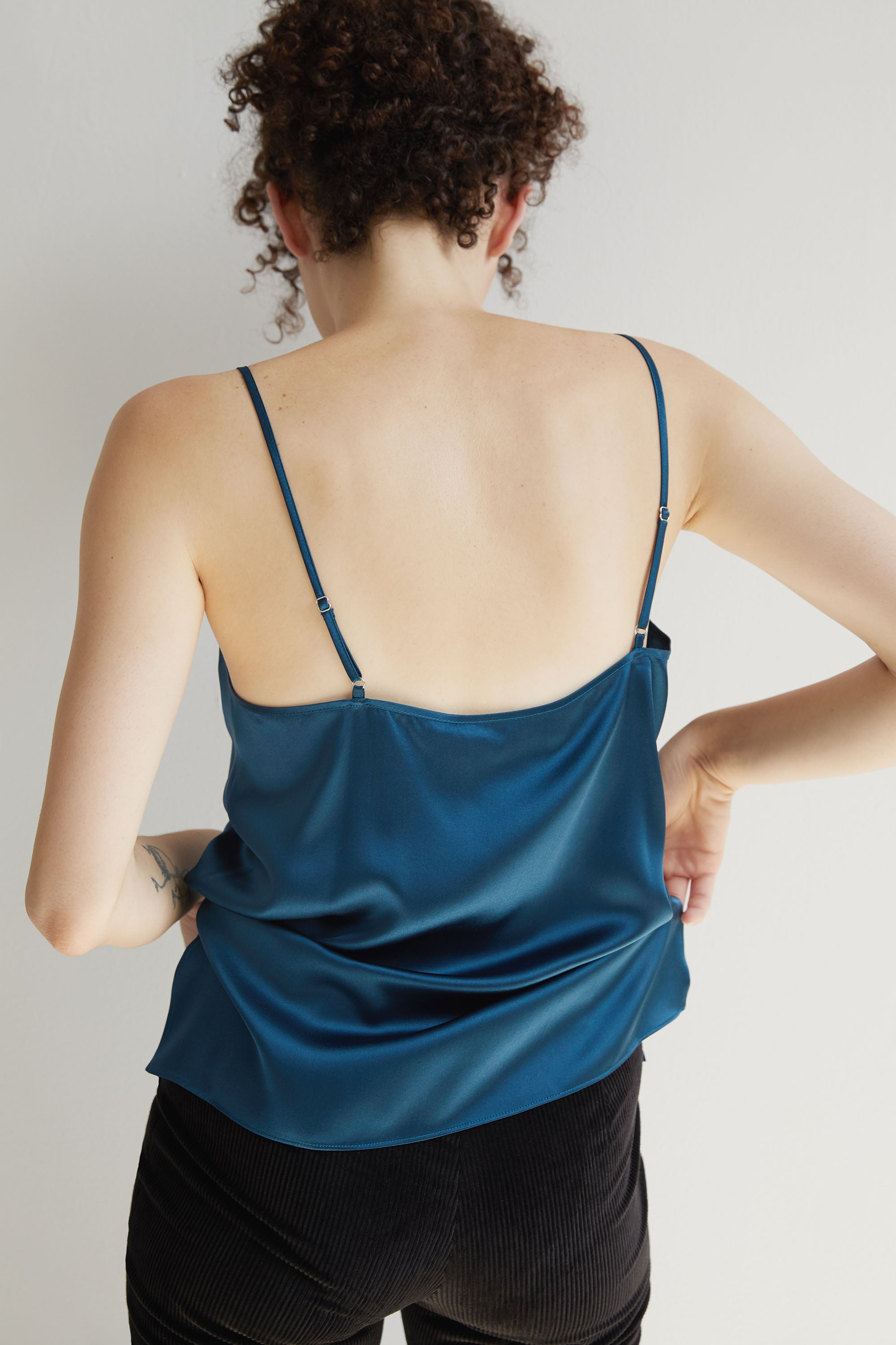 Aster Camisole - Teal